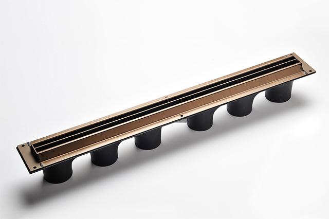 Invisible.AC 25mm multi/confluent-jet floor slot