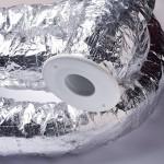 Invisible.AC mini ducting (100mm diameter)