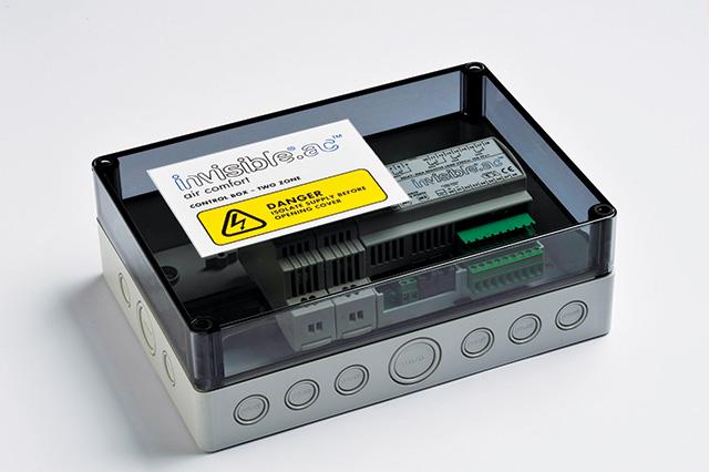 Invisible.AC twin zone control box